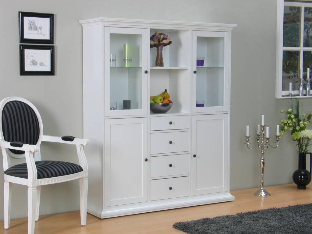 Tvilum Buffetkast Venetiu00eb witte kast - hioshop.nl - online meubels ...