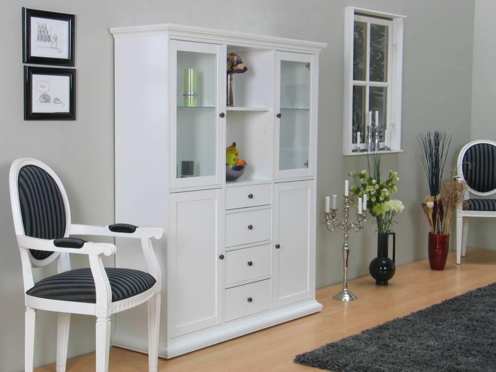 Tvilum Buffetkast Veneti u00eb witte kast   hioshop nl   online meubels   goedkope meubels