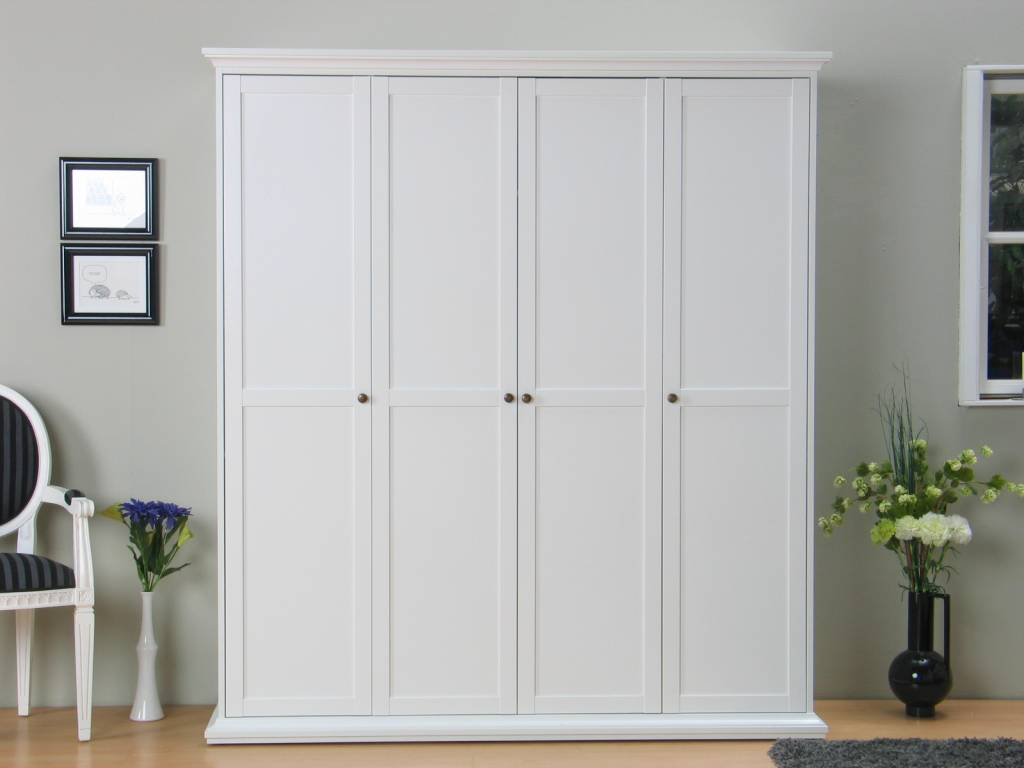 Goedkope Keuken Opbergkast : wit kledingkast – hioshop.nl – online meubels – goedkope meubels