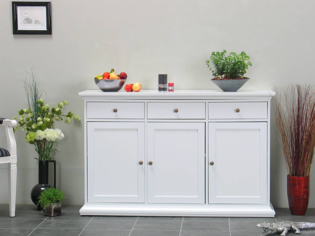 Keuken Dressoir : Tvilum Wit dressoir Veneti? – hioshop.nl – online meubels – goedkope