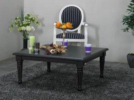 Vierkante salontafel zwart Mozart