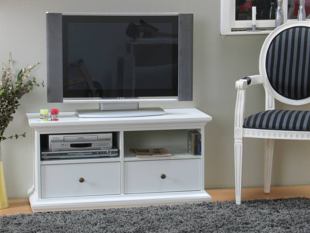 Witte Tv Kast : Tv dressoir lizzano acaciahout wit bruin