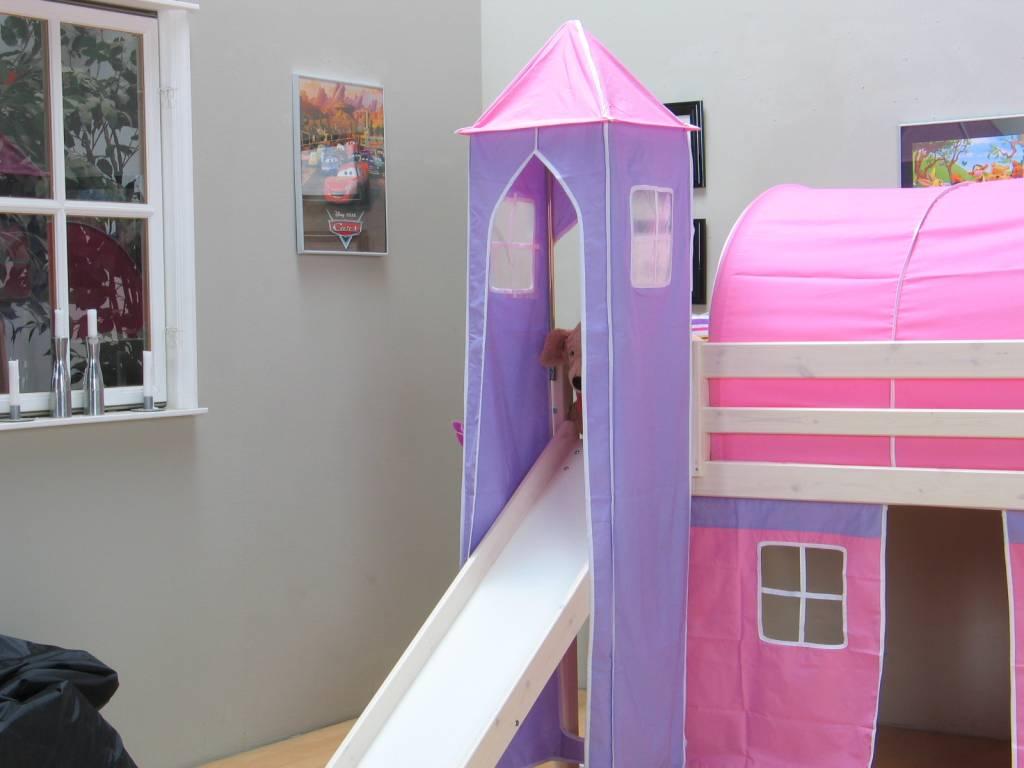 Roze lila toren voor glijbaanbed thuka   hioshop.nl   online ...
