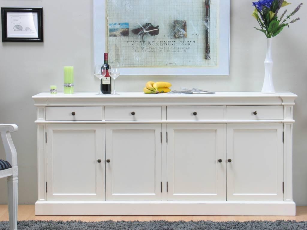 Dressoir mozart wit antiek patina online for Goedkope houten meubels