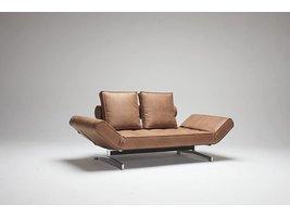 Innovation slaapbank Ghia bruin
