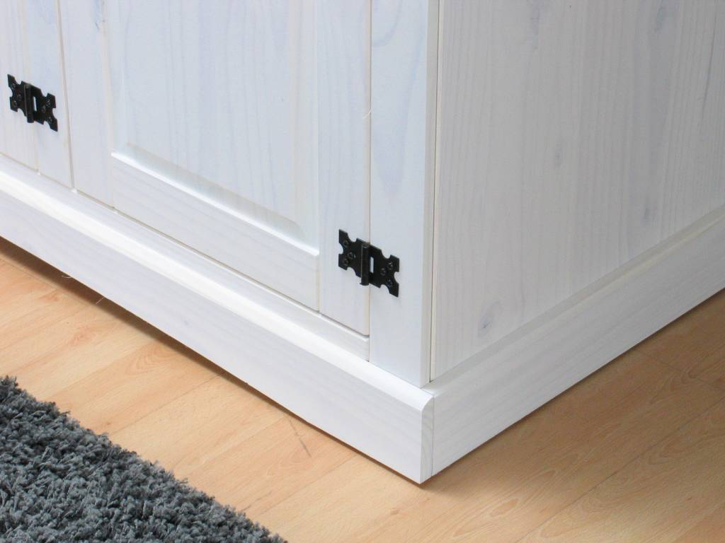Witte 3-deurs kledingkast New Mexico - hioshop.nl - online meubels ...