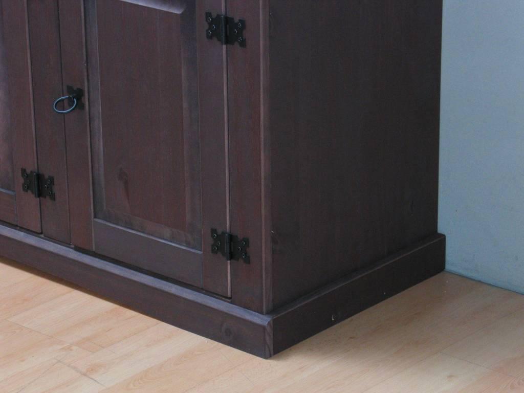 24 . Bruin dressoir New Mexico koloniaal 132cm - hioshop.nl - online ...