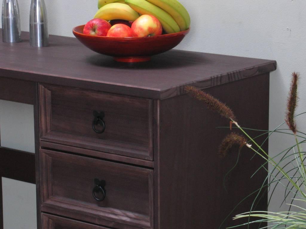 Koloniaal bureau bruin new mexico   hioshop.nl   online meubels ...