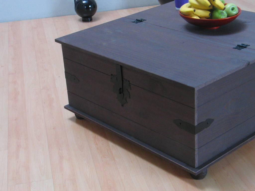 Salontafel bruin dekenkist New Mexico   hioshop nl   online meubels   goedkope meubels