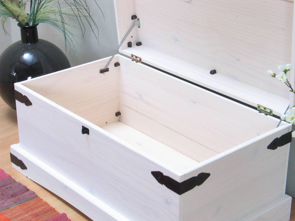 Dekenkist wit New Mexico - hioshop.nl - online meubels - goedkope ...