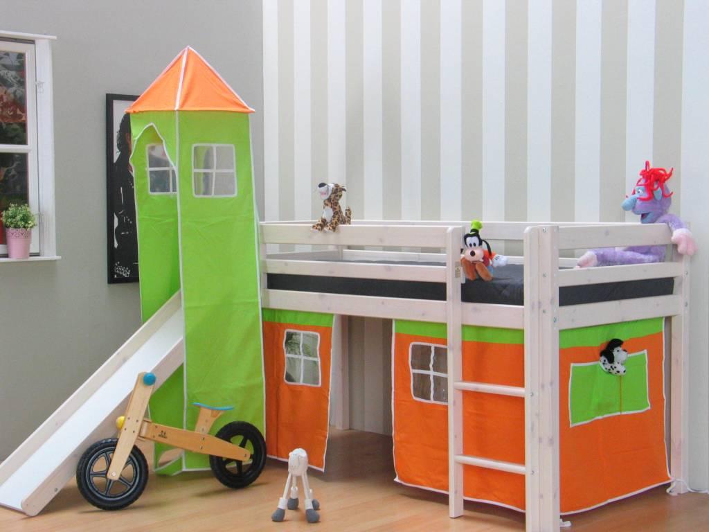 Thuka tent oranje voor halfhoogslaper thuka   hioshop.nl   online ...