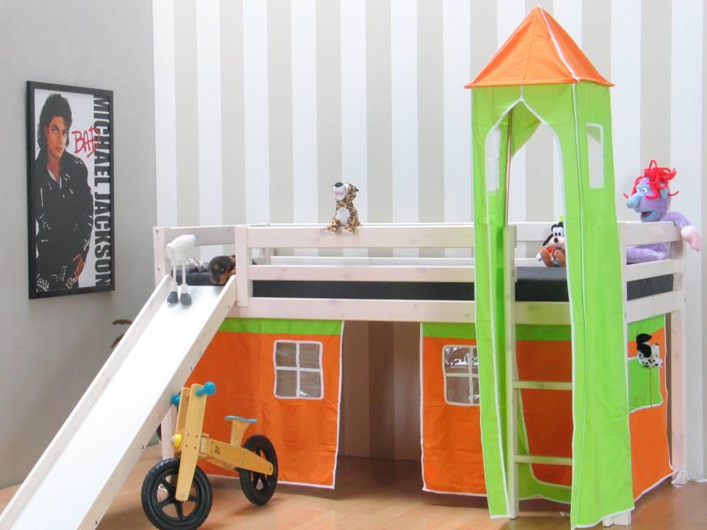 Thuka Tent oranje voor halfhoogslaper Thuka - hioshop.nl - online ...