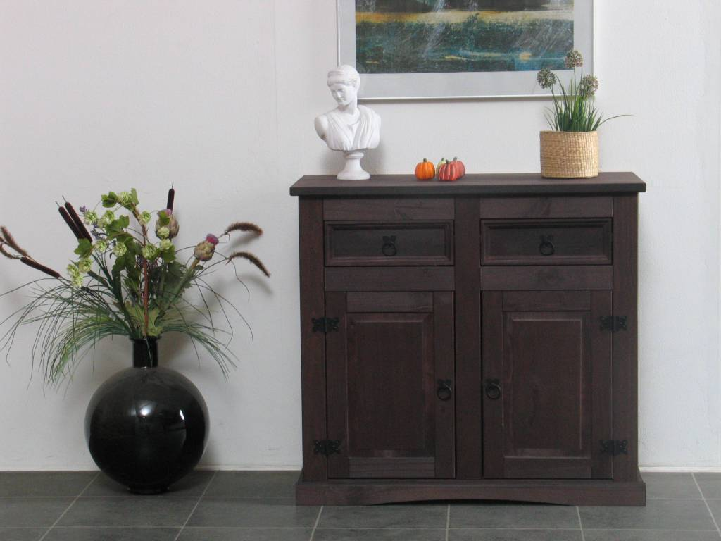 Dressoir new mexico bruin   hioshop.nl   online meubels   goedkope ...