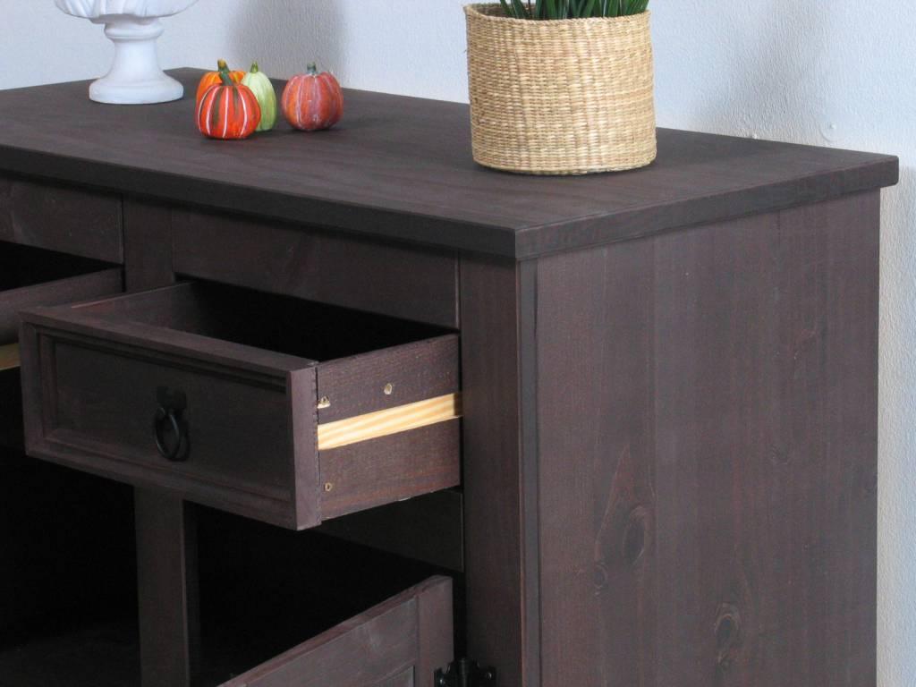 New mexico bruin compact dressoir   hioshop.nl   online meubels ...