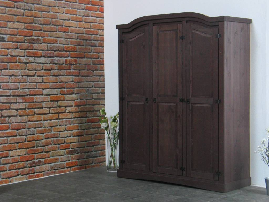 Set van 2 bruine nachtkastjes new mexico   hioshop.nl   online ...