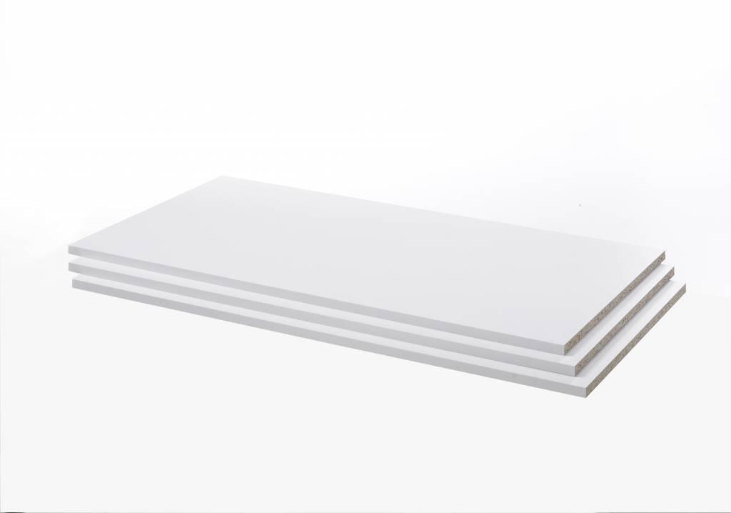 Legplanken wit 89x1,5x49 cm Verona