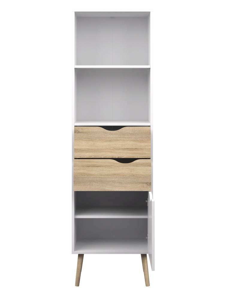 Goedkope Keuken Opbergkast : opbergkast Napoli – hioshop.nl – online meubels – goedkope meubels