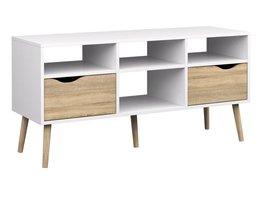 Tvilum TV-meubel Napoli met 2 lades en 4 open vakken