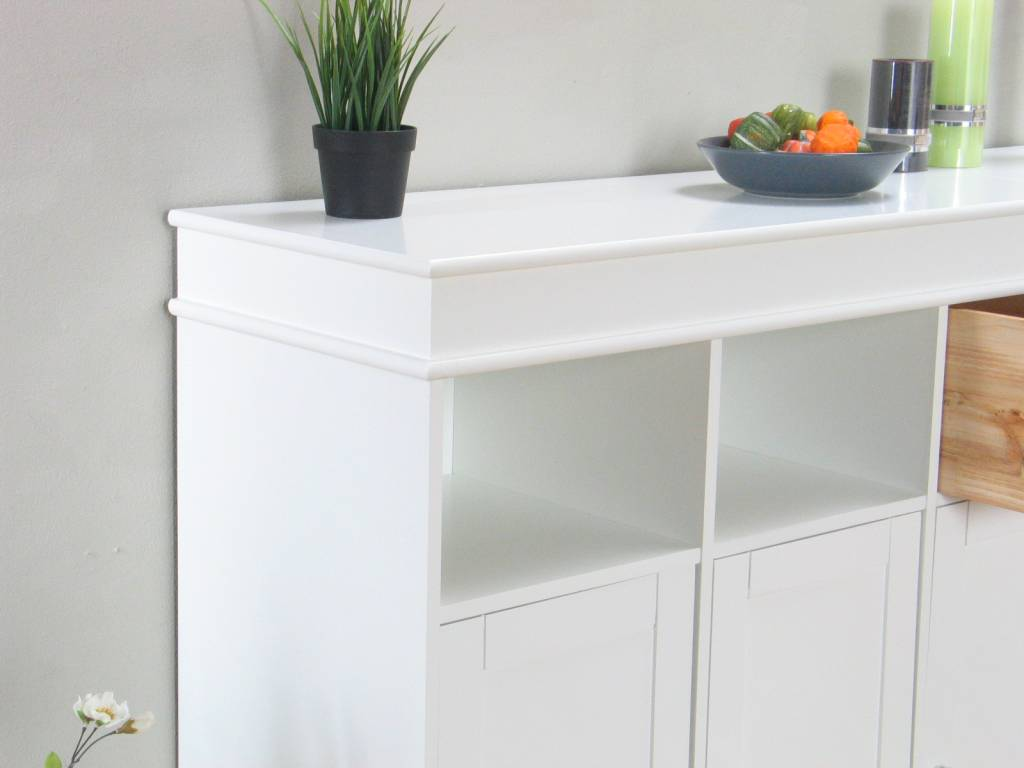 Dressoir Anna 100 cm hoog met 4 lades - hioshop.nl - online meubels ...