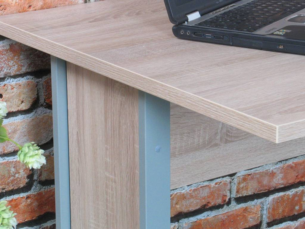 Tvilum bureau prima met ladenblok 120 cm breed hioshop for Ladenblok 30 cm breed
