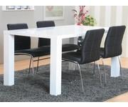 Eethoek Paya 90x160 cm met 4 stoelen