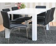 Eethoek Paya 90x160 cm met 6 stoelen