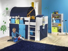 Bedtunnel donkerblauw Molly Kids