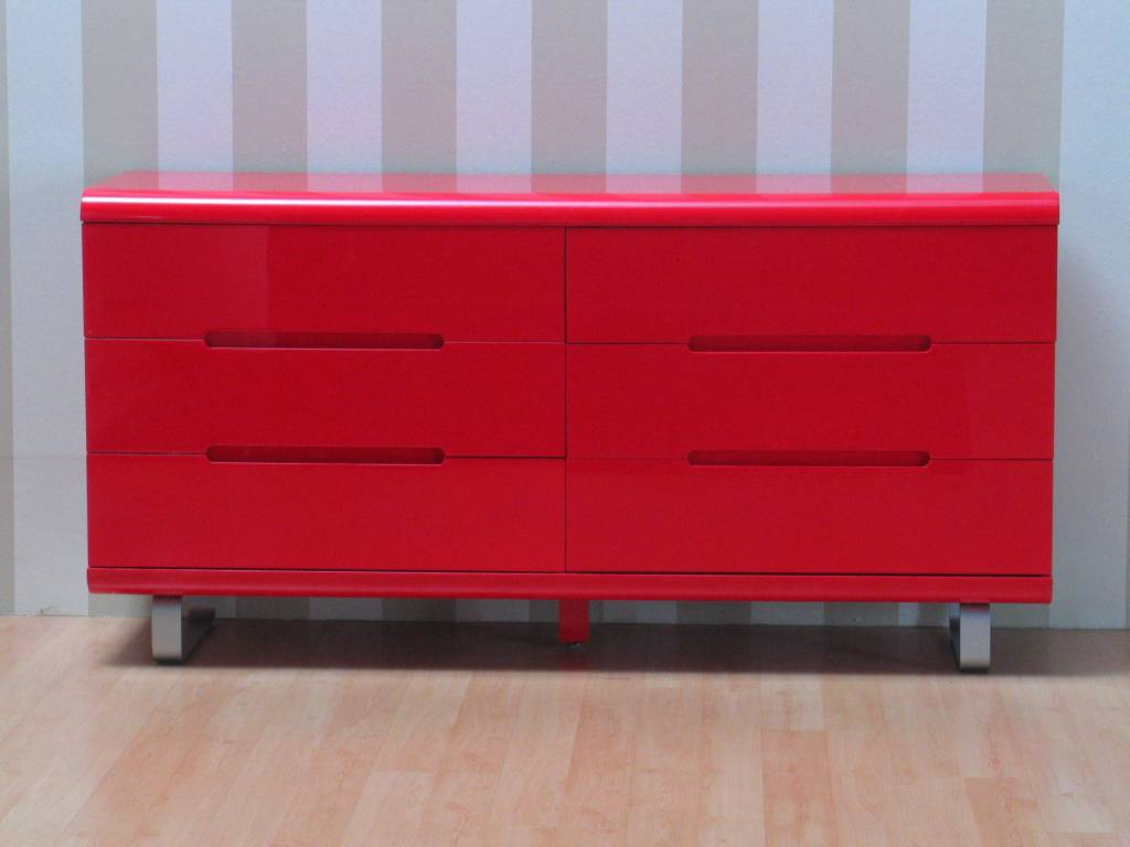 Woonkamer accessoires rood