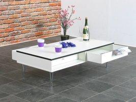 Salontafel Pippi met 2 lades 120x60 cm