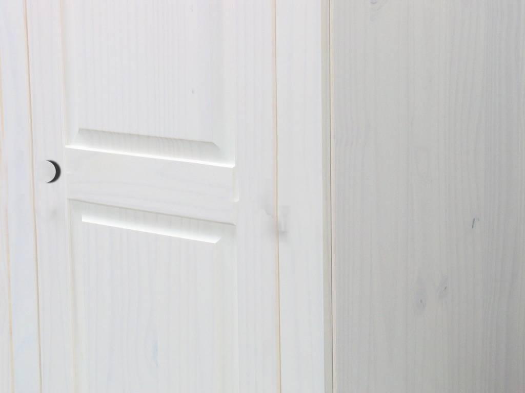 Witte 3-deurs kledingkast Rico - hioshop.nl - online meubels ...