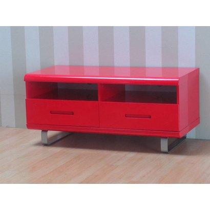 tv meubel spacy rood hoogglans 120 cm