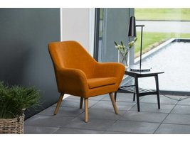 Relaxfauteuil Ask oranje fauteuil
