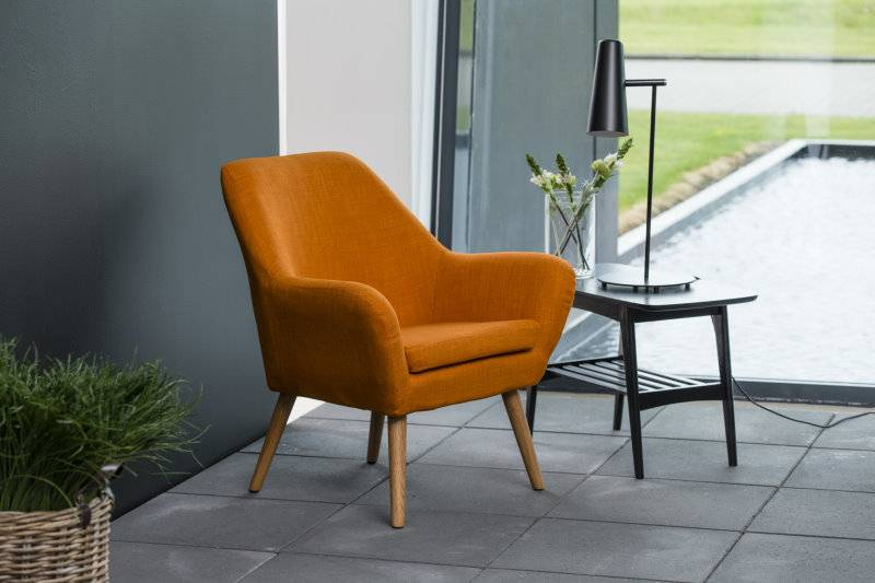 Ask oranje fauteuil