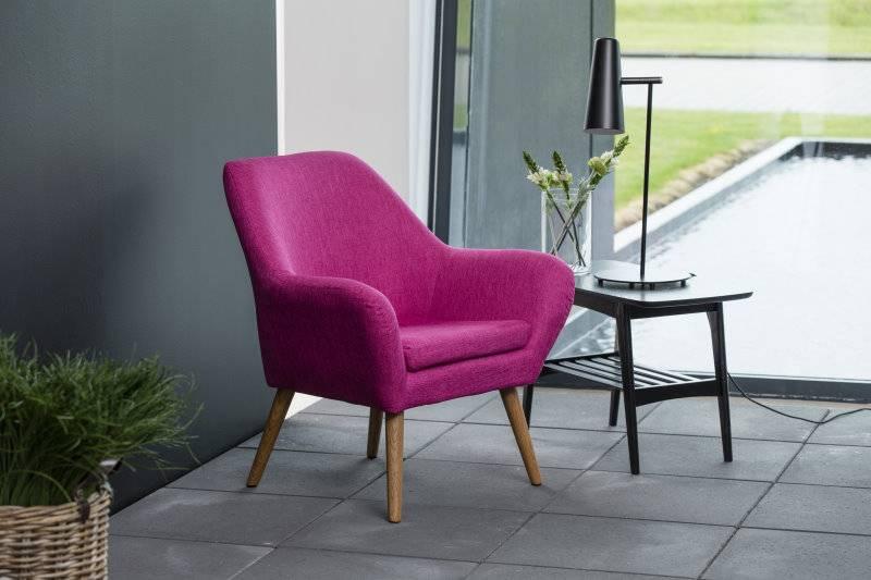 Relaxfauteuil Ask magenta paars fauteuil - hioshop.nl - online ...