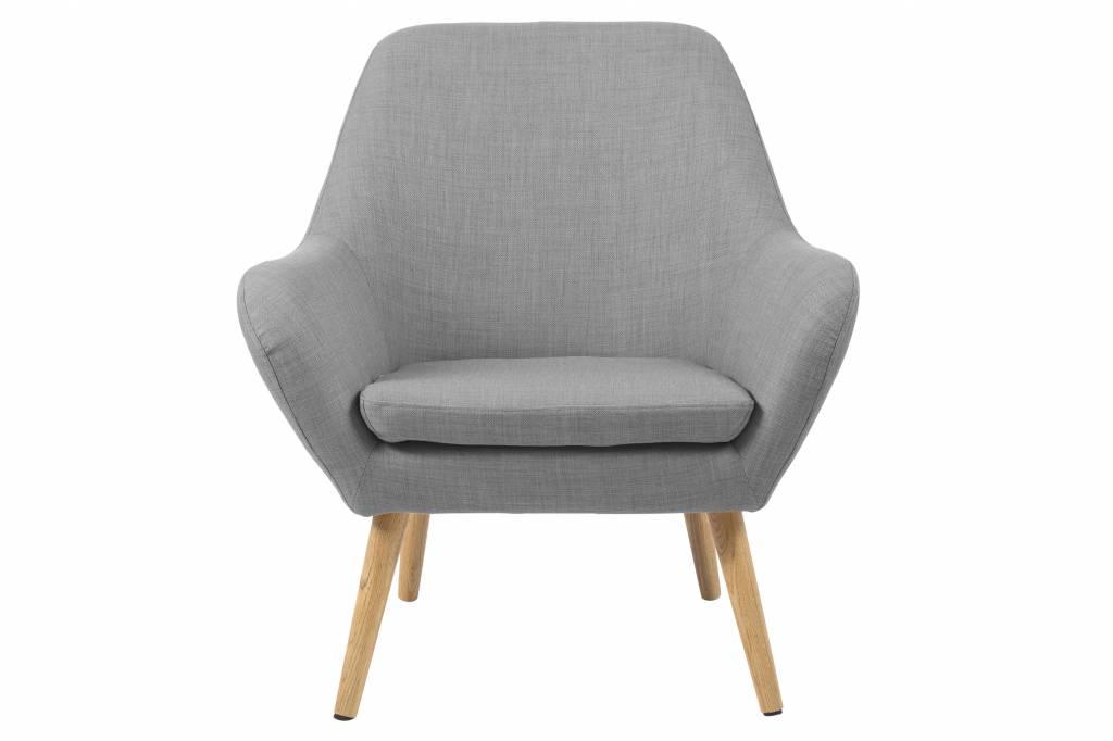 ... lichtgrijs fauteuil - hioshop.nl - online meubels - goedkope meubels