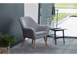 Relaxfauteuil Ask lichtgrijs fauteuil