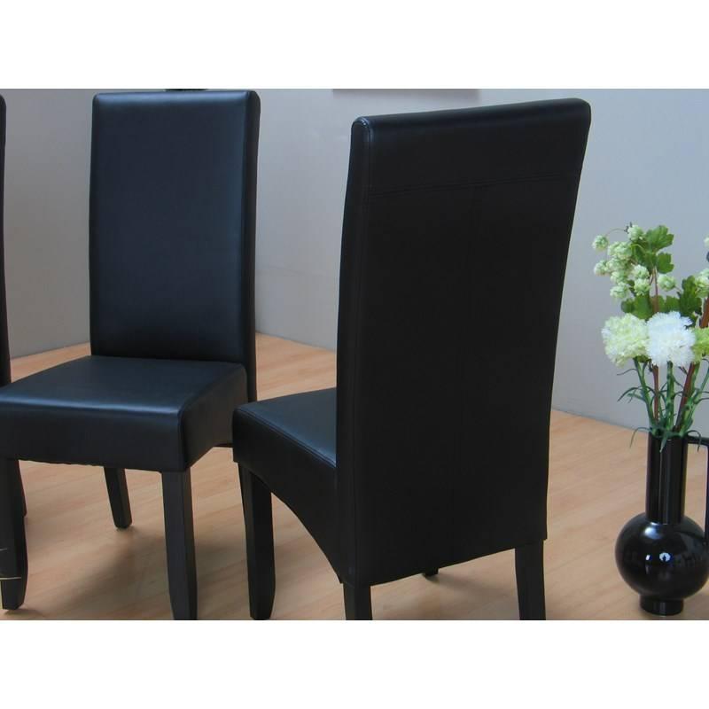Eethoek eiken Cactus met 6 zwarte stoelen Thor - hioshop.nl - online ...