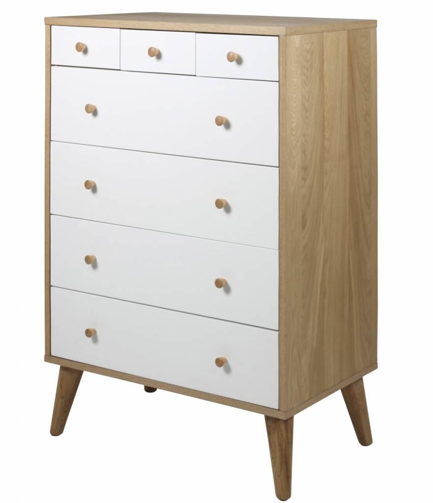 FYN Ontario - Ladekast - Wit - Hout - hioshop.nl - online meubels ...