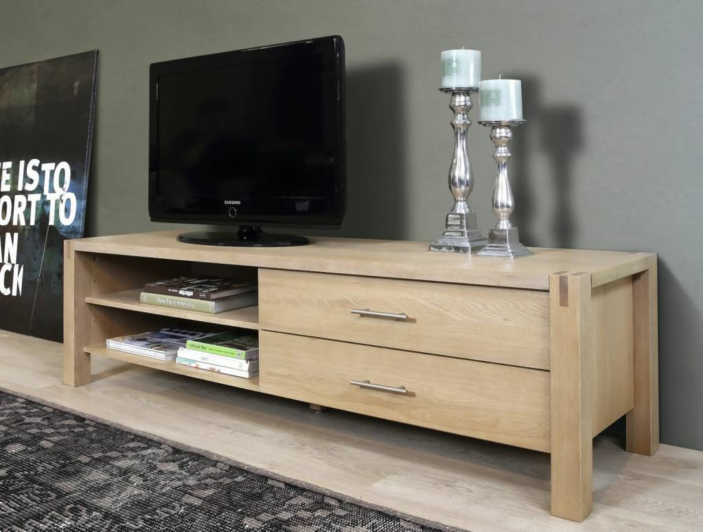 FYN Corso   TV meubel   Eiken white wash
