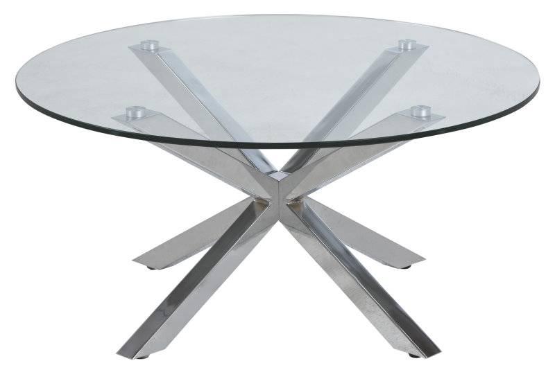 Fyn heerlijk glazen salontafel transparant