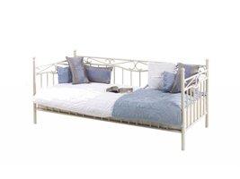 FYN Sonja metalen bed creme 90x200 cm