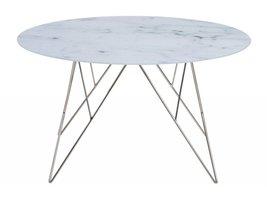 FYN Promo salontafel glas met marmerprint
