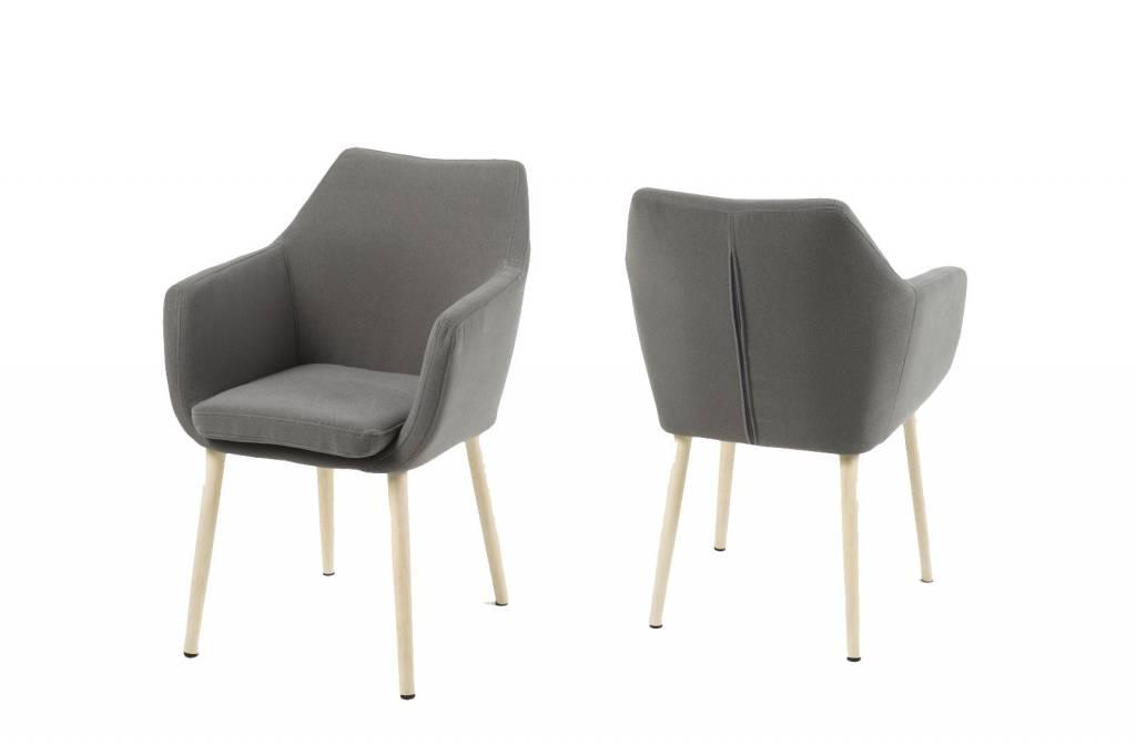 ... Lichtgrijs - met Wit Eiken onderstel - hioshop.nl - online meubels