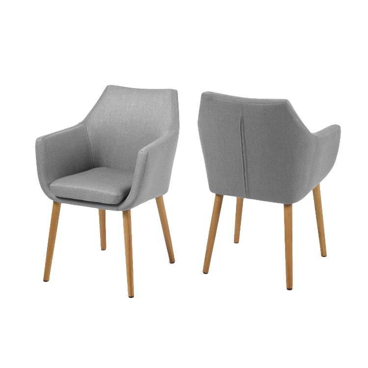 ... Lichtgrijs - met geolied Eiken onderstel - hioshop.nl - online meubels