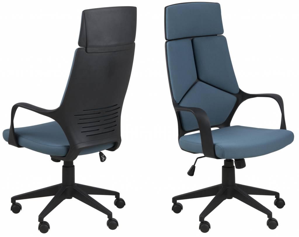 FYN Duro - Bureaustoel hoge rug - Petrol - hioshop.nl - online meubels ...