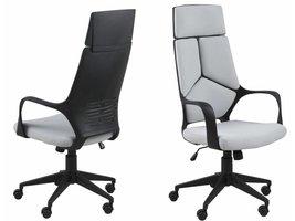 FYN Duro - Bureaustoel hoge rug - Lichtgrijs