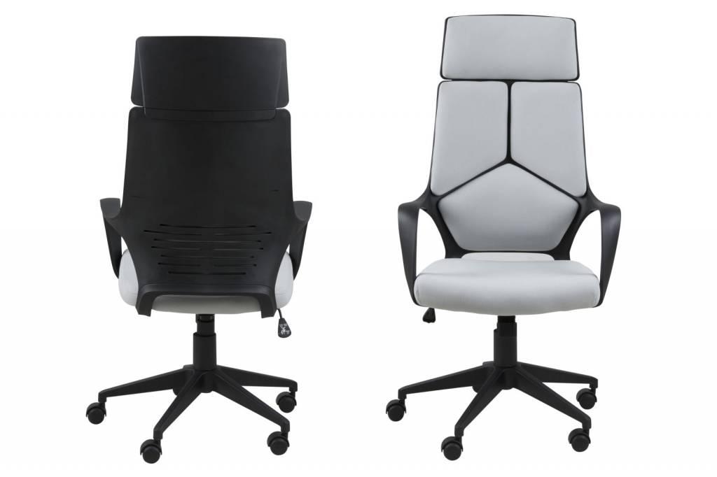 ... hoge rug - Lichtgrijs - hioshop.nl - online meubels - goedkope meubels