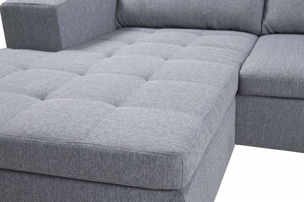 ... Hoekbank - Lichtgrijs - hioshop.nl - online meubels - goedkope meubels