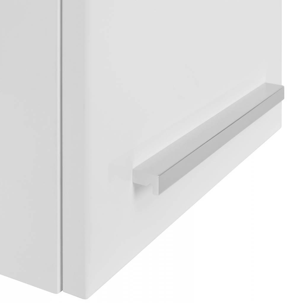 Afzuiging Badkamer Muur ~ Badkamerkast bovenkast Athena met 1 deurtje wit hoogglans  hioshop nl