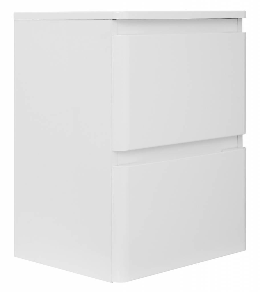 hioshop badkamer onderkast maja badkamerkast hoogglans wit -, Badkamer